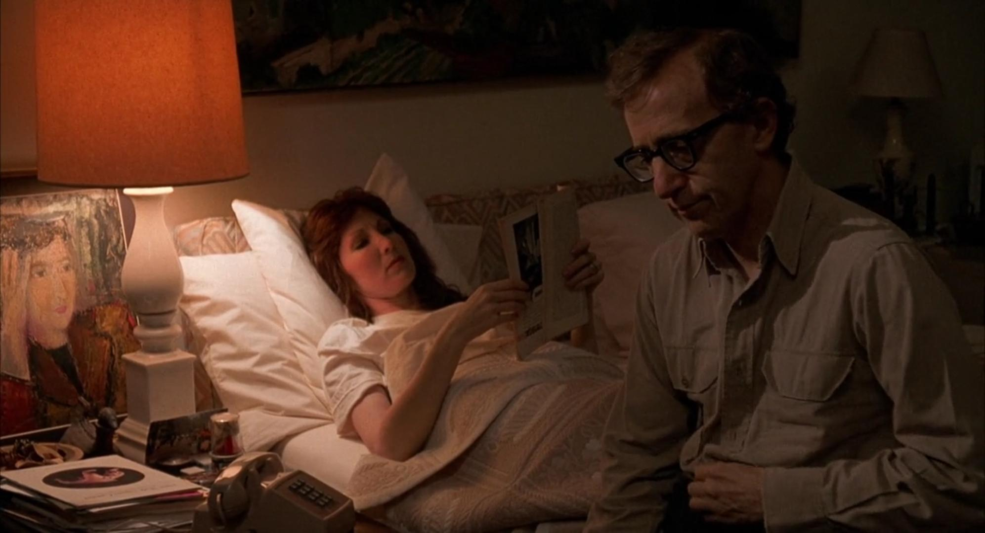 Woody Allen and Joanna Gleason in Crimes and Misdemeanors (1989)