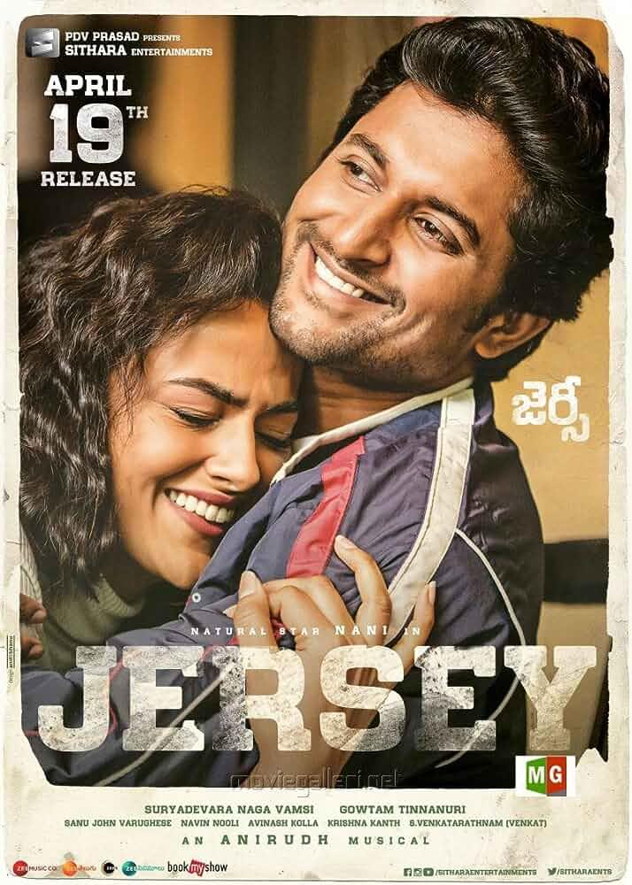 Jersey (2019) Hindi Dubbed