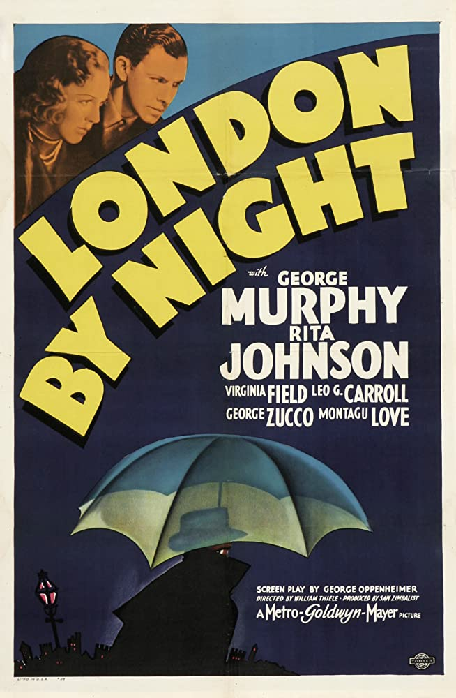 Rita Johnson and George Murphy in London by Night (1937)