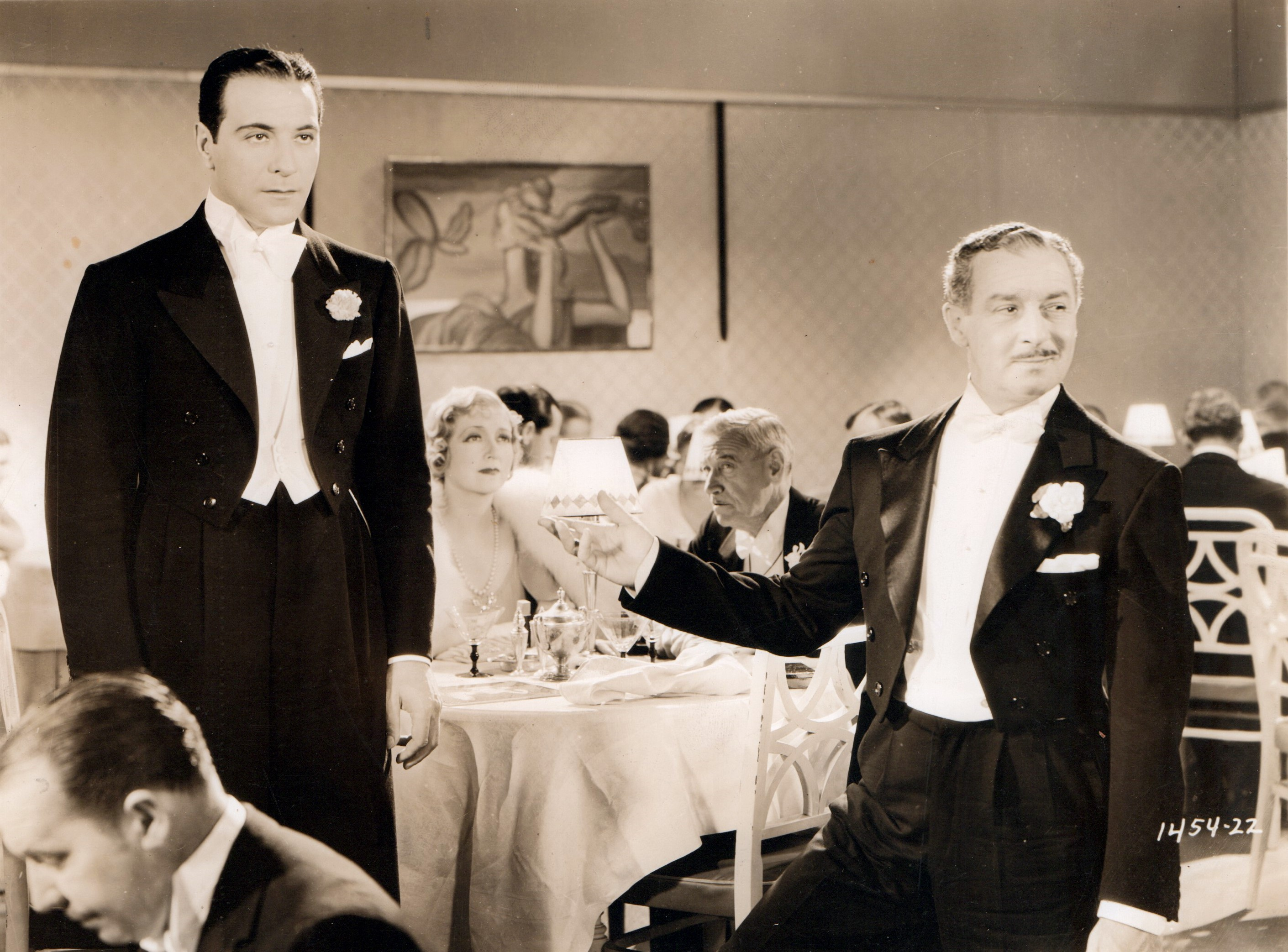 Ricardo Cortez, Charley Grapewin, and Lyda Roberti in Torch Singer (1933)