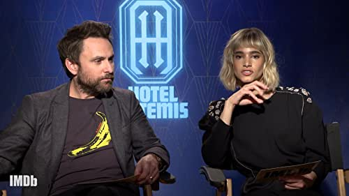 Fan Questions With Sofia Boutella and Charlie Day