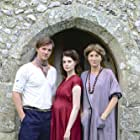 Rupert Penry-Jones as Duncan Grant, Eve Best as Vanessa Bell and Lucy Boynton as Angelica Bell in 'LIFE IN SQUARES'