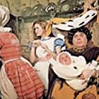 Peter Bull, Fiona Fullerton, and Patsy Rowlands in Alice's Adventures in Wonderland (1972)