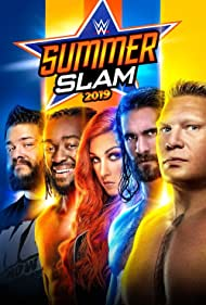 Brock Lesnar, Kevin Steen, Colby Lopez, Rebecca Quin, and Kofi Kingston in WWE: SummerSlam (2019)