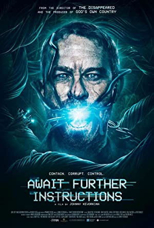 Await Further Instructions Poster