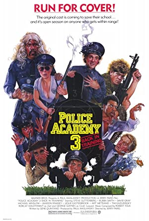 Permalink to Movie Police Academy 3: Back in Training (1986)
