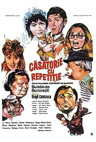 Octavian Cotescu, Mircea Diaconu, Catrinel Dumitrescu, Radu Gheorghe, Rodica Mandache, and Draga Olteanu Matei in Casatorie cu repetitie (1985)