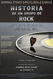 Historia de un grupo de rock Poster