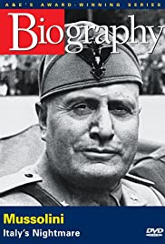 Mussolini: Italy's Nightmare Poster