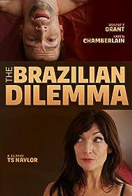 Timothy Naylor, Robert Z. Grant, and Karen Chamberlain in The Brazilian Dilemma (2018)
