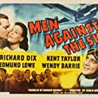 Wendy Barrie, Richard Dix, Selmer Jackson, Edmund Lowe, Kent Taylor, and Grant Withers in Men Against the Sky (1940)
