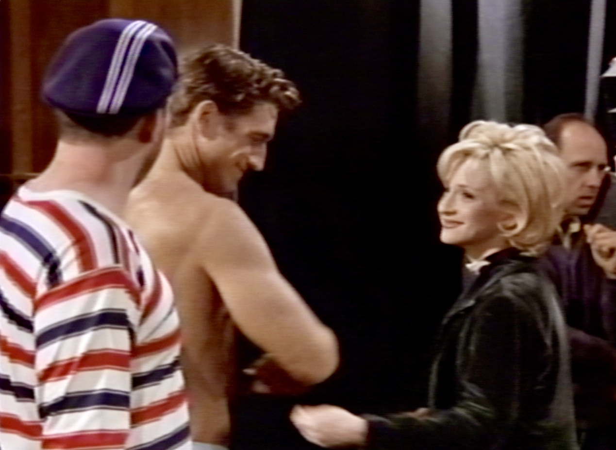 Still of Mike O'Malley, Robert Gant, and Hallie Todd in Life with Roger and The Boxer Rebellion
