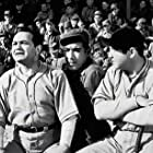 Anthony Quinn, Edward G. Robinson, and Broderick Crawford in Larceny, Inc (1942)