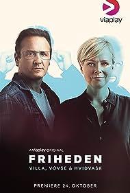 Lars Ranthe and Lene Maria Christensen in Friheden (2018)