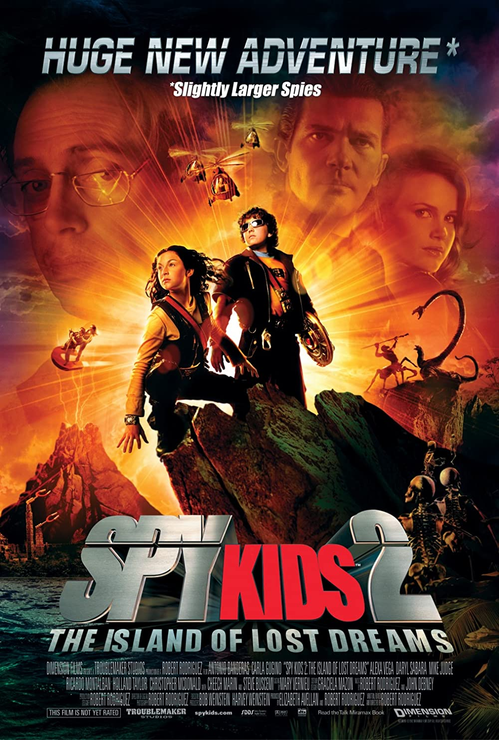 Spy Kids 2 Island of Lost Dreams 2002 Dual Audio Hindi 720p BluRay ESub 710MB Download