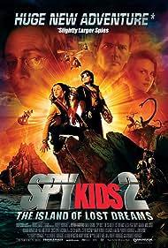 Antonio Banderas, Steve Buscemi, Carla Gugino, Daryl Sabara, and Alexa PenaVega in Spy Kids 2: Island of Lost Dreams (2002)