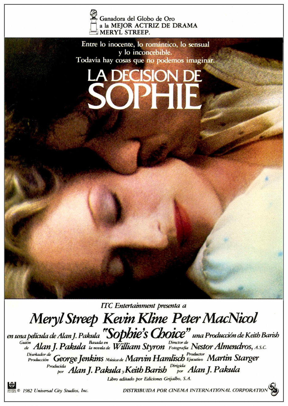 sophies choice 1982 full movie