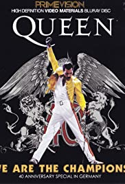 Queen: We Are the Champions Poster
