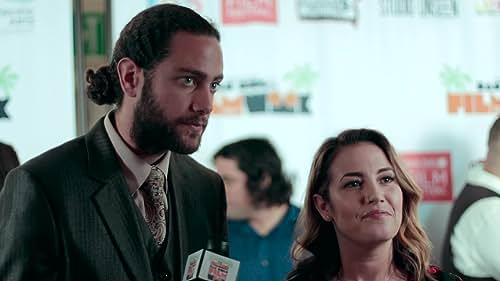Luke Pensabene and Raye Richards at San Diego Film Week 2017