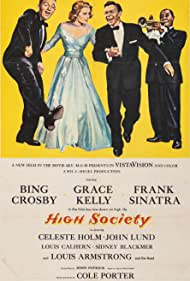 Grace Kelly, Frank Sinatra, Bing Crosby, and Louis Armstrong in High Society (1956)
