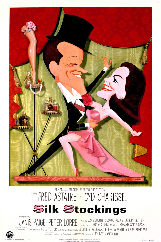 02345fc67ff Silk Stockings (1957) - IMDb