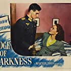 Nancy Coleman and Helmut Dantine in Edge of Darkness (1943)
