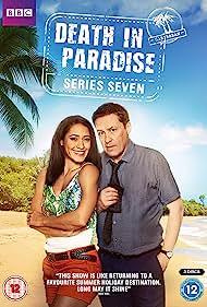 Ardal O'Hanlon and Joséphine Jobert in Death in Paradise (2011)