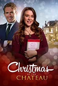 Justen Jones and Kinsey Leigh Redmond in Christmas at the Chateau (2019)