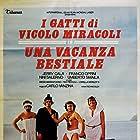 Jerry Calà, Franco Oppini, Nini Salerno, and Umberto Smaila in Una vacanza bestiale (1980)