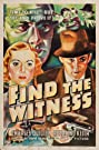 Find the Witness (1937) Poster