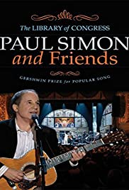 Paul Simon: The Library of Congress Gershwin Prize for Popular Song Poster