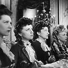 Louise Conte, Suzet Maïs, Micheline Presle, and Janine Viénot in Boule de suif (1945)