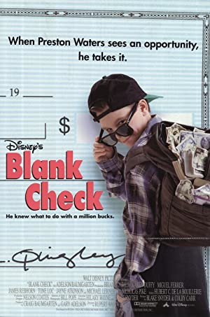 Movie Blank Check (1994)