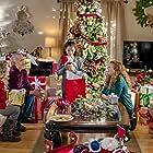 Rene Rivera, Alexa PenaVega, Jaynee-Lynne Kinchen, and Madison Hall in Enchanted Christmas (2017)