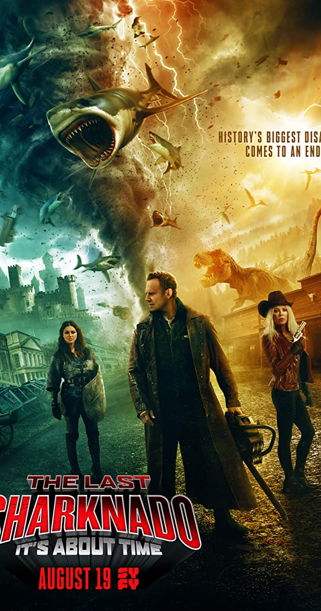 Subtitle of The Last Sharknado: It's About Time