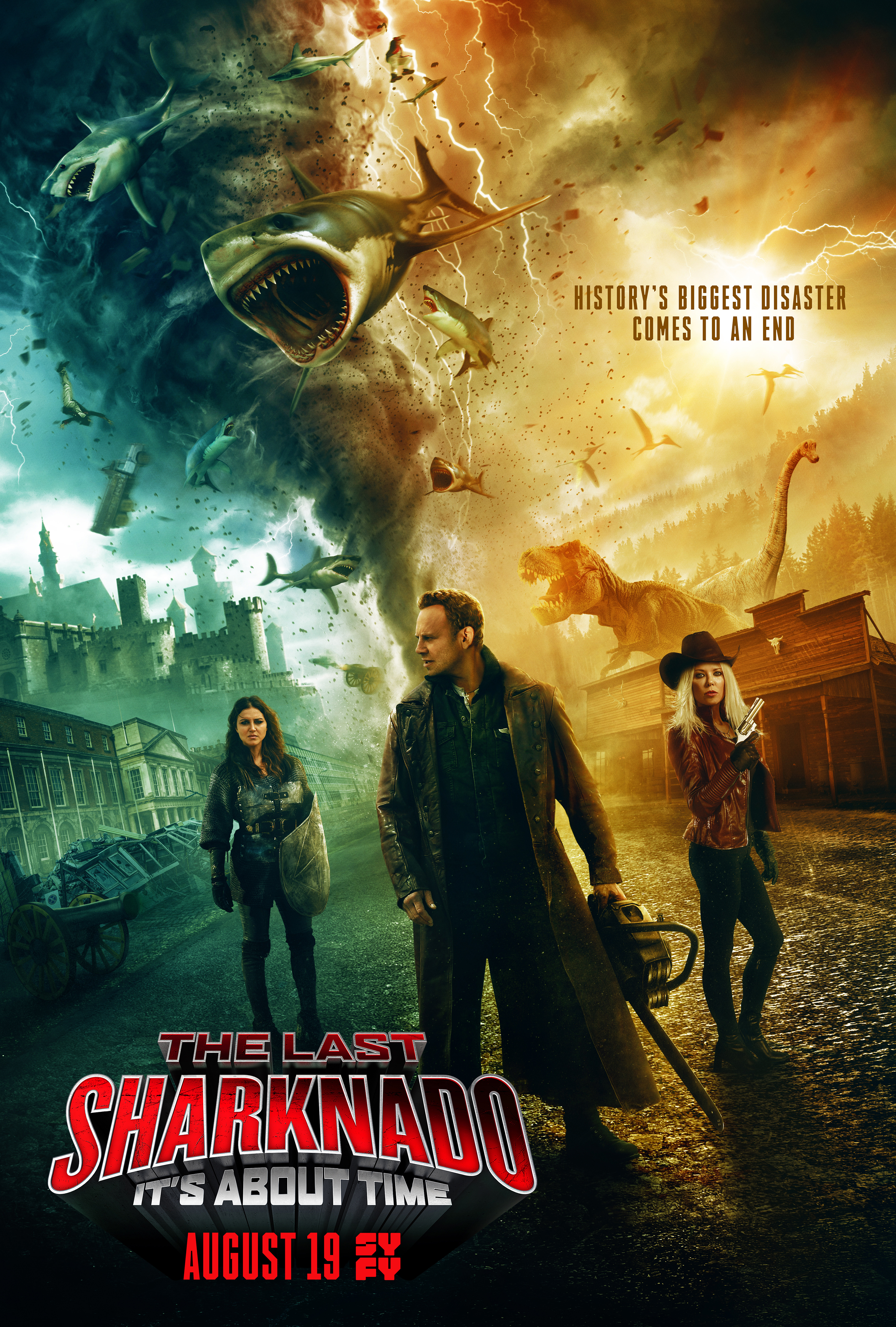 The Last Sharknado: It's About Time (2018) BluRay 720p & 1080p