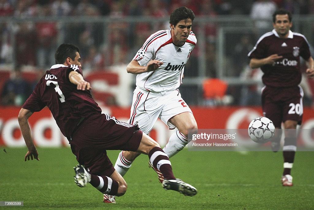 Quarter Final Fc Bayern Munich Vs Ac Milan 2007