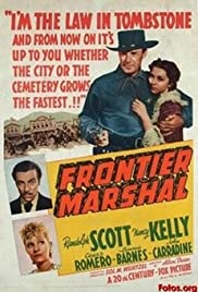 Frontier Marshal Poster