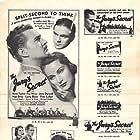 Larry J. Blake, Nan Grey, Kent Taylor, and Fay Wray in The Jury's Secret (1938)