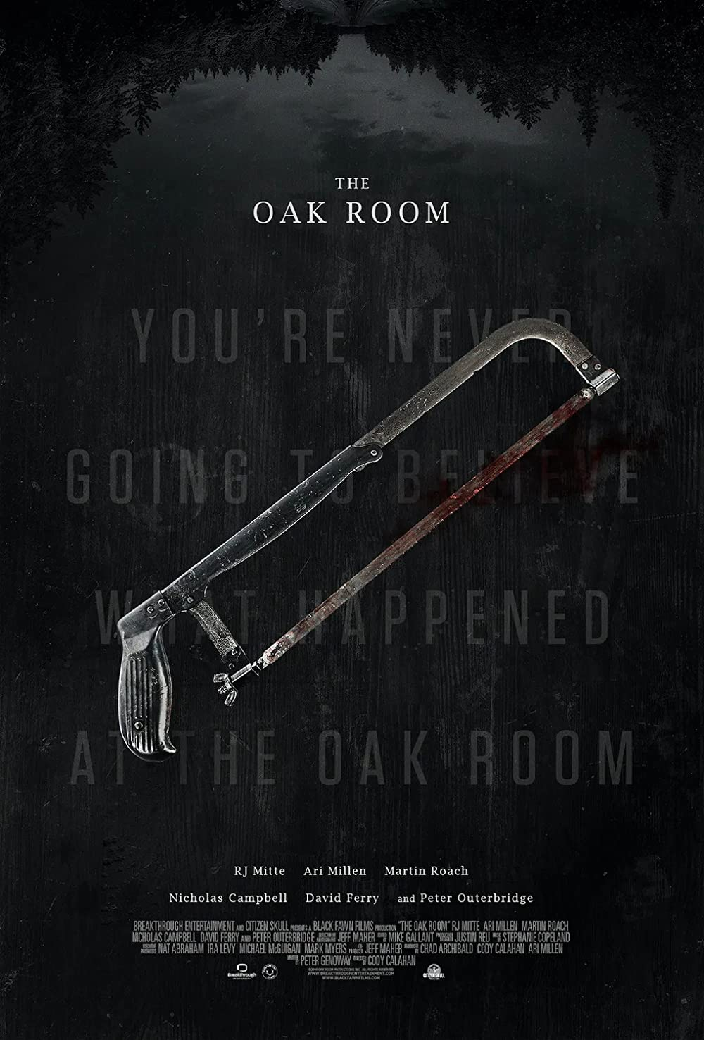 Download The Oak Room 2021 English 720p HDRip 800MB