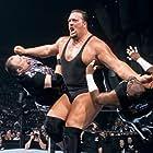 Devon Hughes, Mark LoMonaco, and Paul Wight in WWF No Mercy (2001)