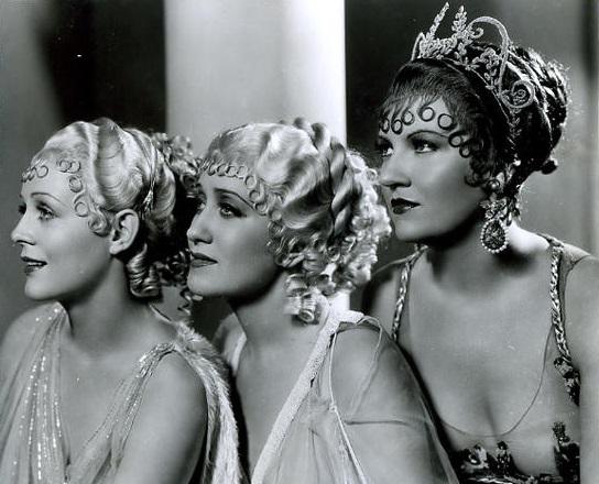 Gloria Stuart, Ruth Etting, and Verree Teasdale in Roman Scandals (1933)