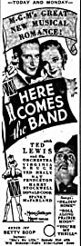 Here Comes the Band (1935) Poster