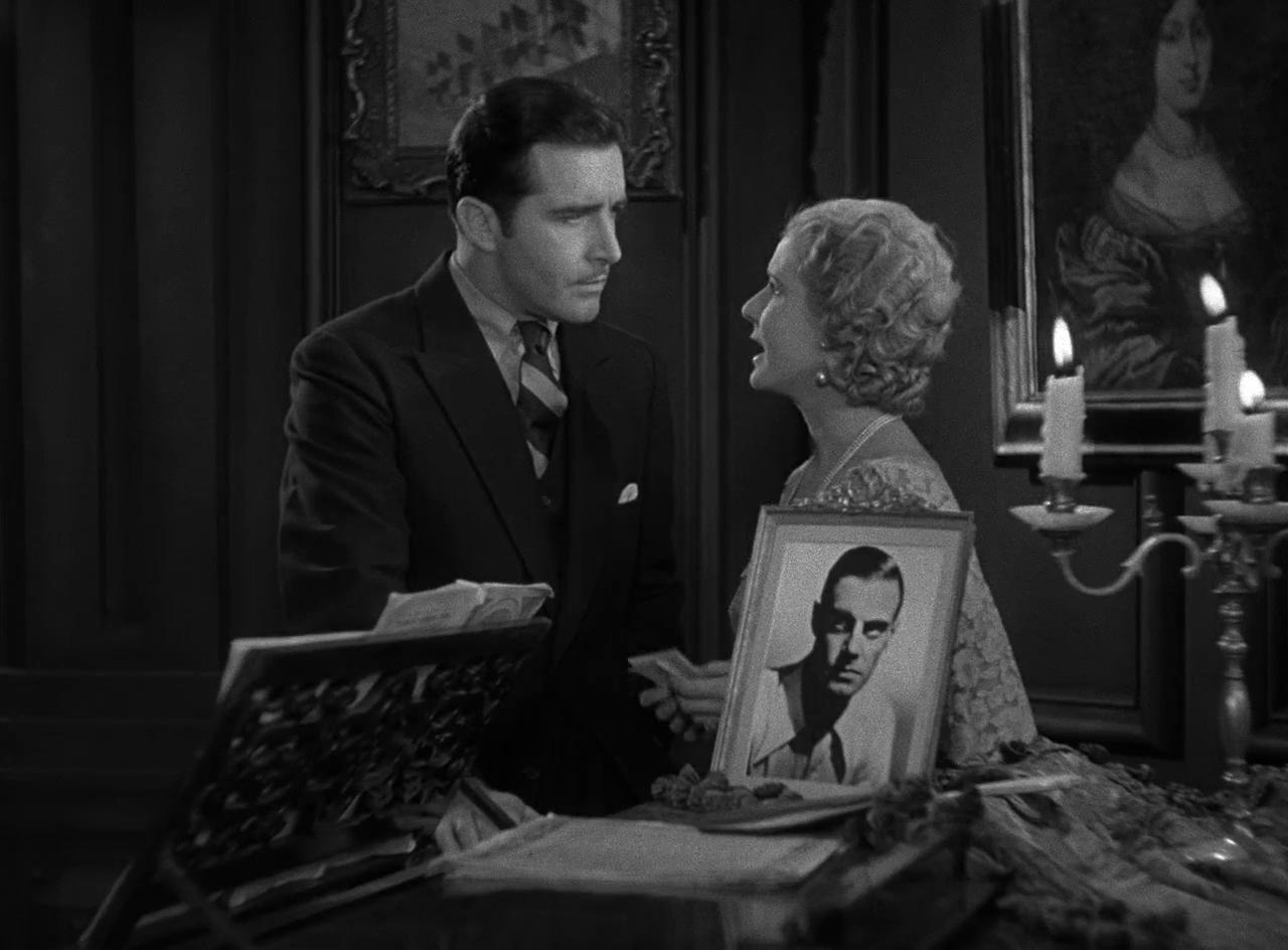John Boles and Mae Clarke in Frankenstein (1931)