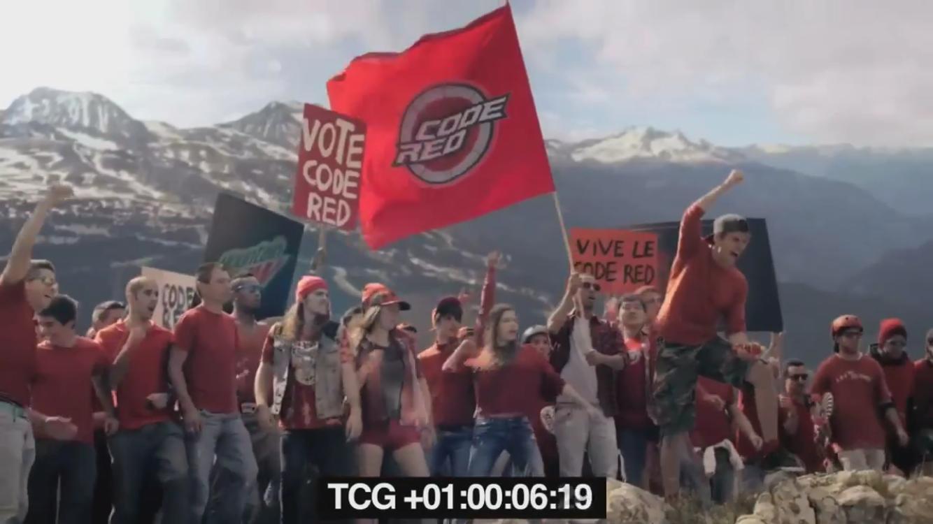 mountain dew vote harder 2014