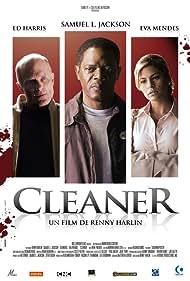 Samuel L. Jackson, Ed Harris, and Eva Mendes in Cleaner (2007)
