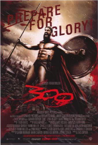 300 (2006) Dual Audio Hindi 400MB BluRay 480p x264 ESubs