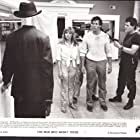 Steve Guttenberg, William Forsythe, and Lisa Langlois in The Man Who Wasn't There (1983)