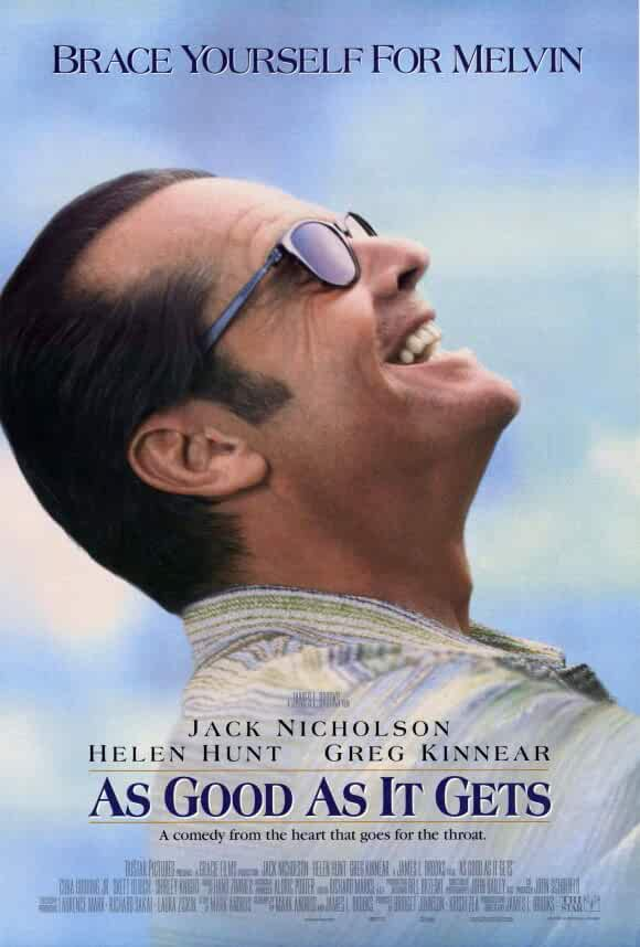 Jack Nicholson in As Good as It Gets (1997)