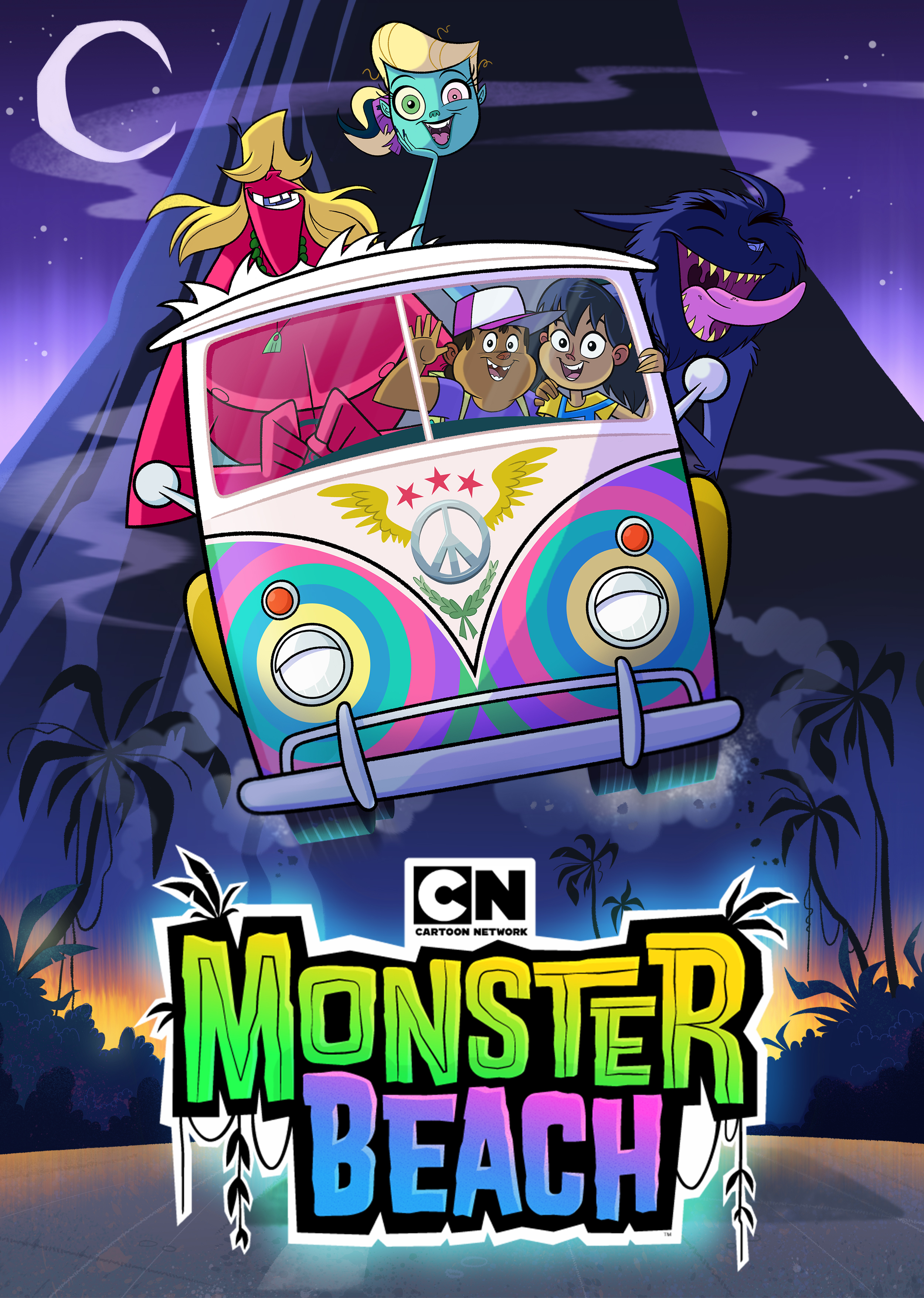 Monster Beach (2014) Hindi Dual Audio 480p BluRay x264 ESubs 300MB